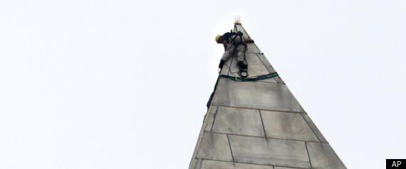 WASHINGTON MONUMENT INSPECTION