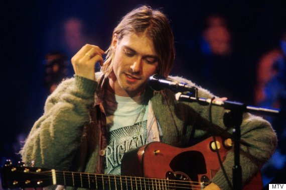 kurt cobain mtv unplugged
