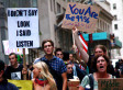 Occupy Wall Street: Handmade Signs and #Hashtags