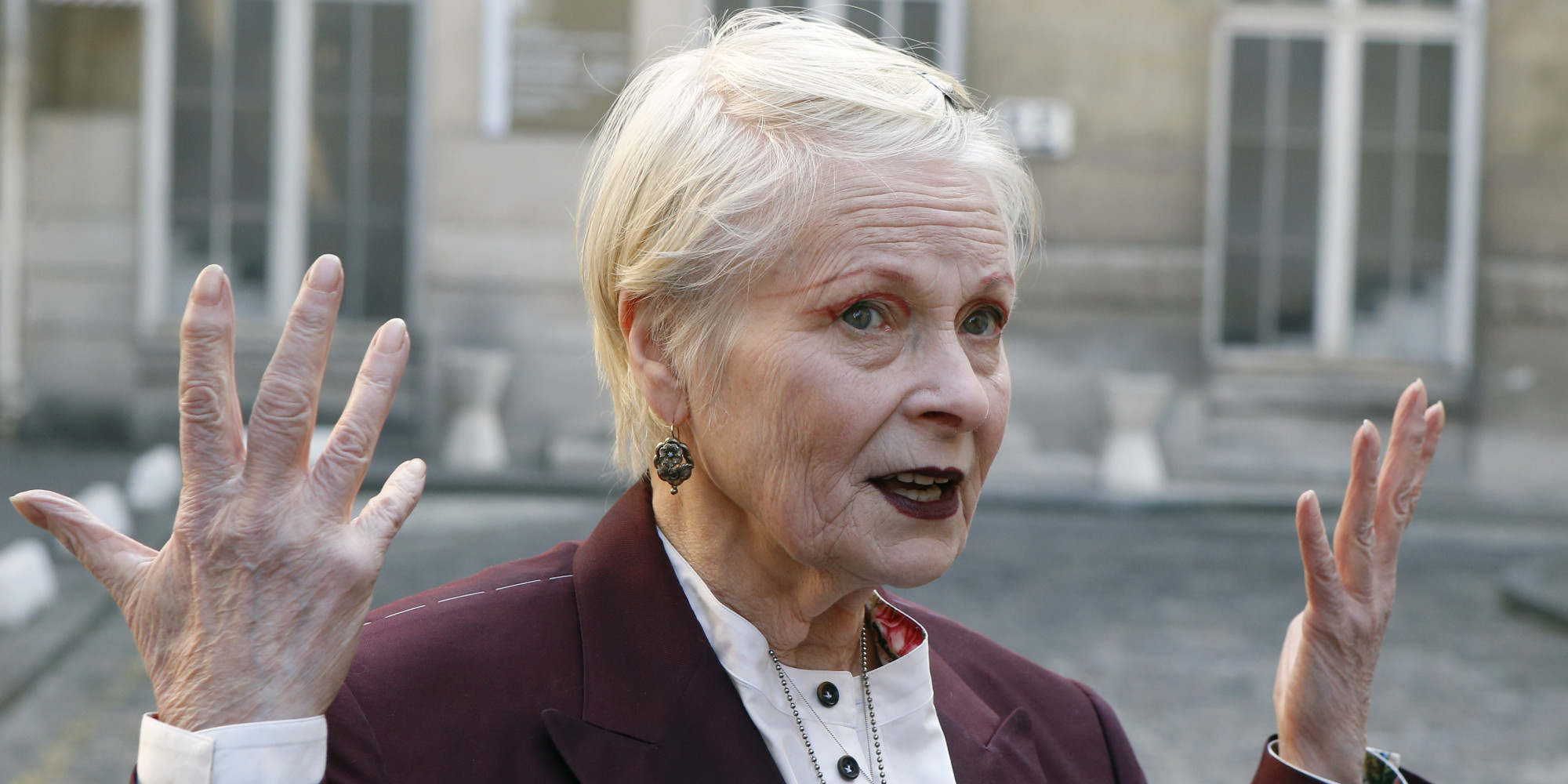 dame vivienne westwood pens furious letter to george osborne over planned cuts to feed in. Black Bedroom Furniture Sets. Home Design Ideas