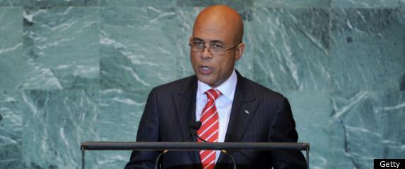 HAITI DISBANDED ARMY