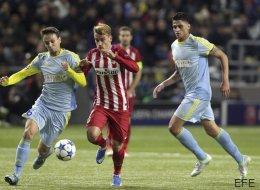 Los palos frenan al Atlético ante el Astana (0-0)