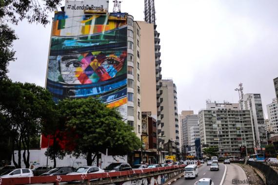 mural paulista ayrton