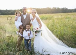 Cette photo de mariage a ému les internautes