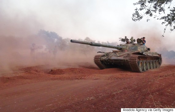 tank syria