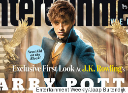 Here's Your First Glimpse At Eddie Redmayne In 'Fantastic Beasts'