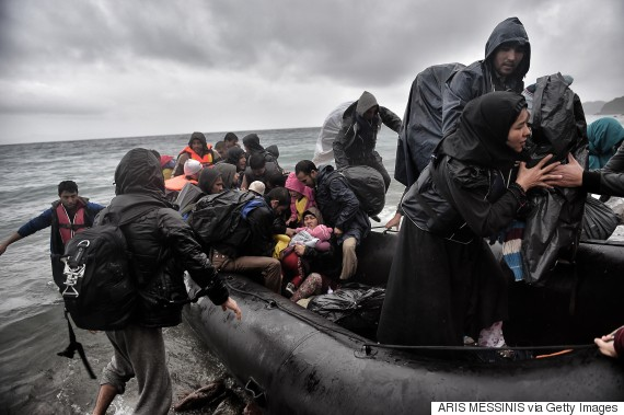 refugees syrian sea