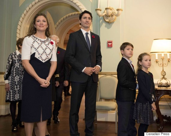 justin and sophie trudeau