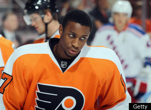 Chris Moorhouse Wayne Simmonds