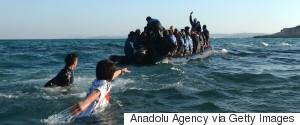 REFUGEES GREEK ISLANDS