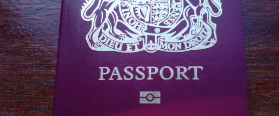 NEW UK PASSPORT