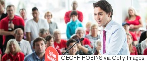 JUSTIN TRUDEAU RALLY