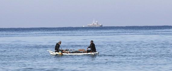 FISHERMEN IN RAFAH