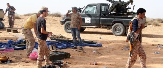LIBYAN GUNMEN