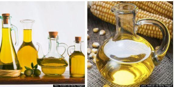 azeite de oliva vs óleo de milho_ girassol e de s