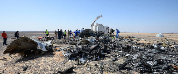 RUSSIA EGYPT RUSSIAN PLANE CRASH