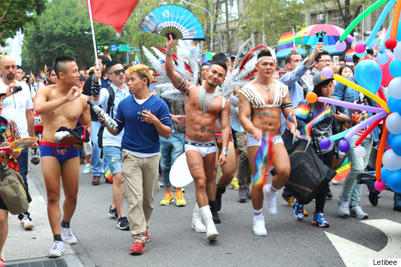 taiwan lgbt pride muscle men