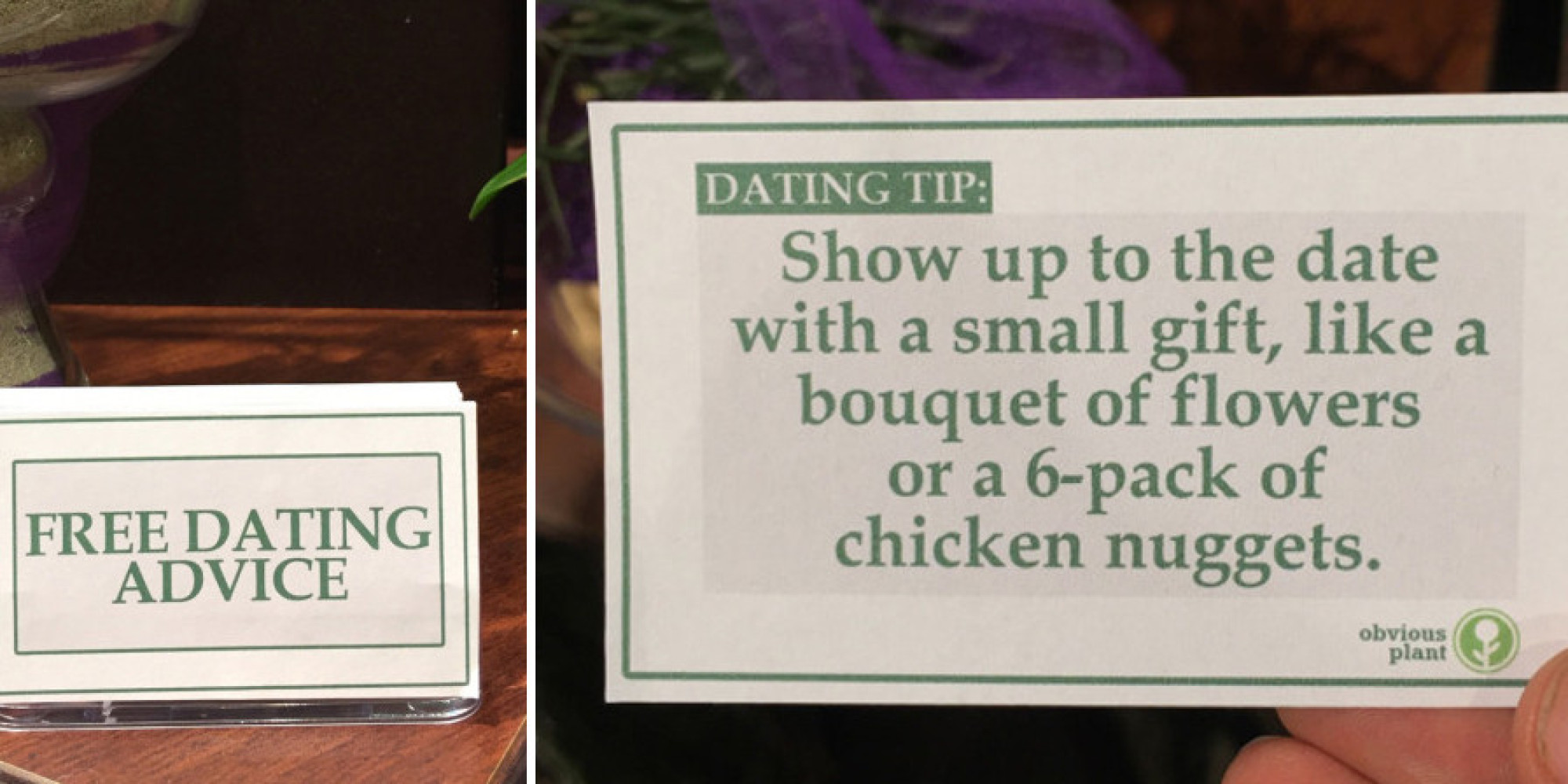 dating tips obvious