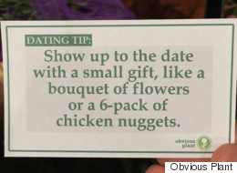 Prankster Leaves Hilarious Fake Dating Tips In Supermarket