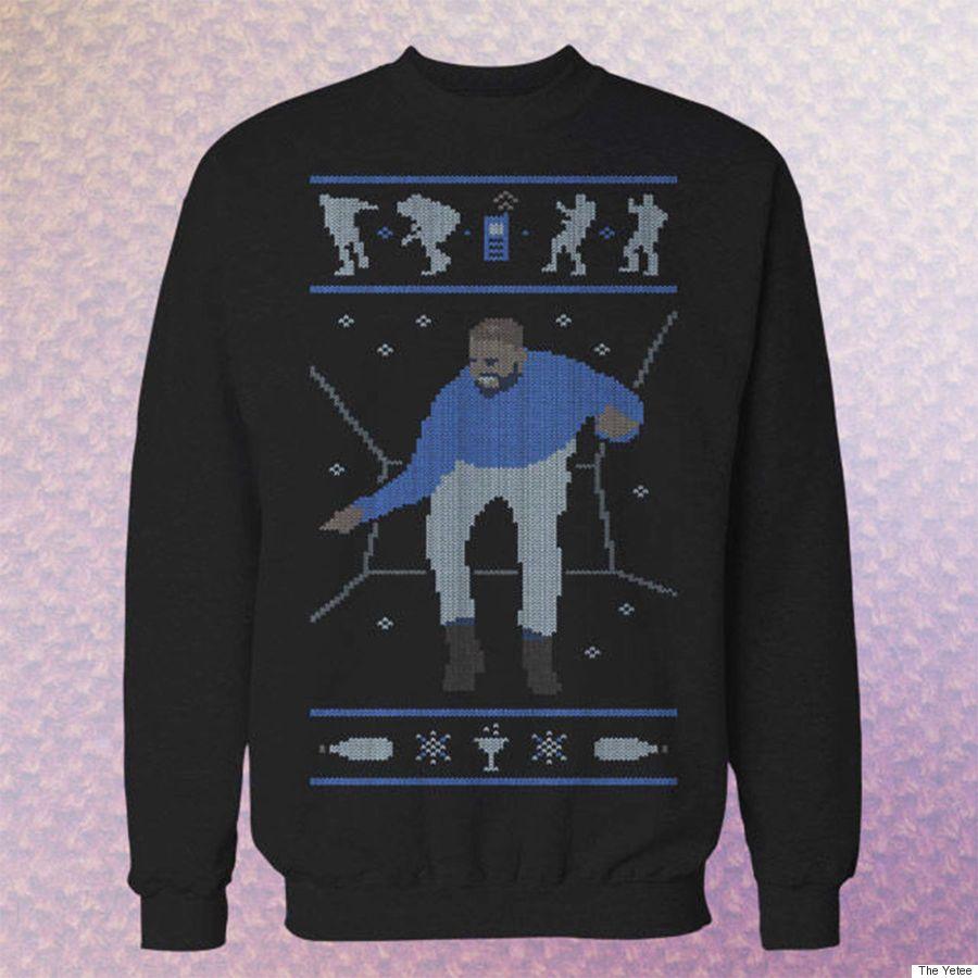 drake christmas sweater