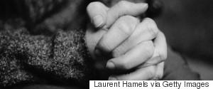 WOMAN HANDS FEAR
