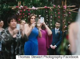 Pourquoi interdire les cellulaires lors des mariages?