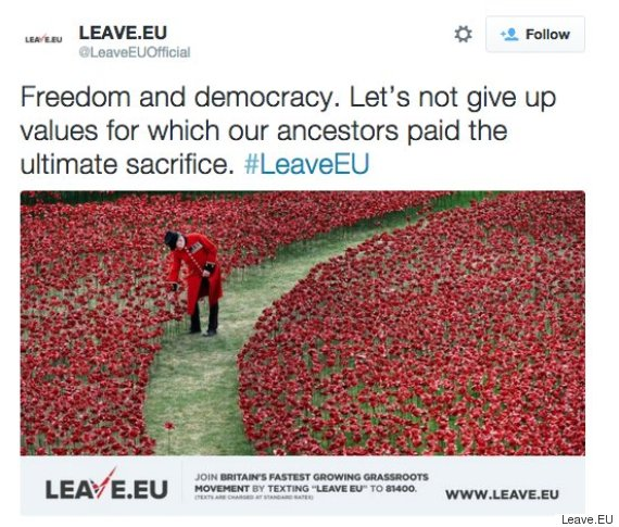leave eu remembrance sunday