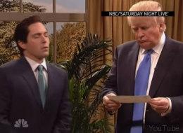El 'graciosísimo' Donald Trump en 'SNL'