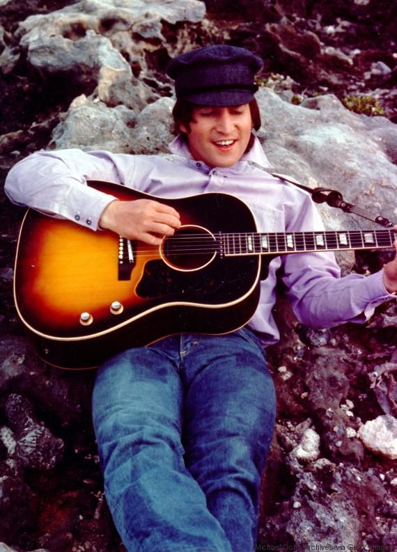 john lennon gibson guitar