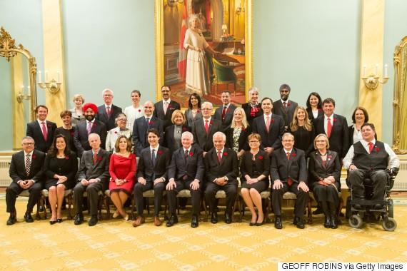 canada cabinet