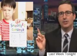 John Oliver Just Absolutely Destroyed Theresa May Over The Snoopers' Charter