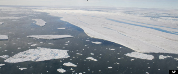 CANADA ARCTIC ICE SHELF GONE GLOBAL WARMING