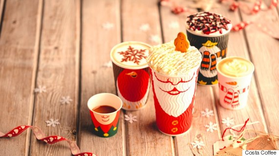 Costa Festive Drinks