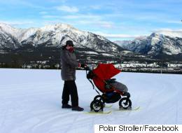 Calgary Couple Come Up With Genius Stroller Idea For Winter