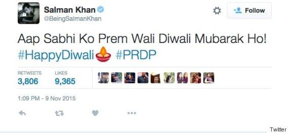 salman khan twitter diwali