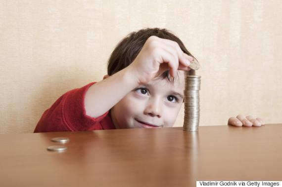 kids getting allowance