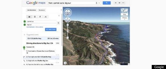 Google Map 3d Aerial View