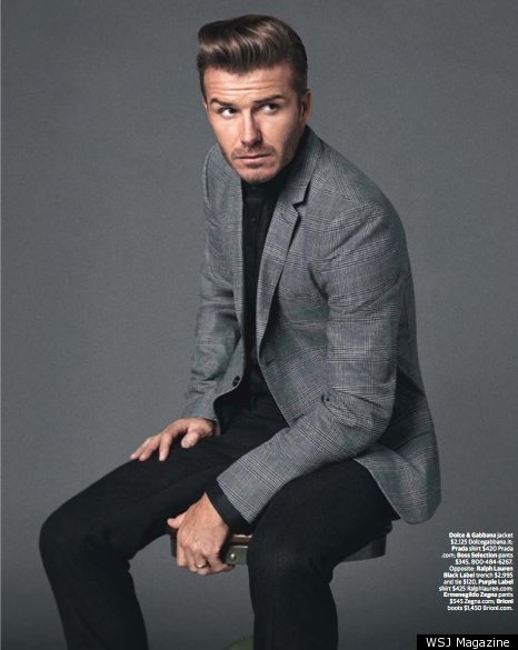 David Beckham Suits Up For WSJ Magazine (PHOTOS) | HuffPost