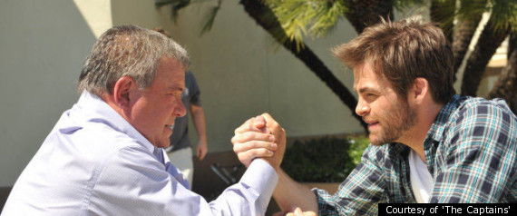William Shatner Chris Pine