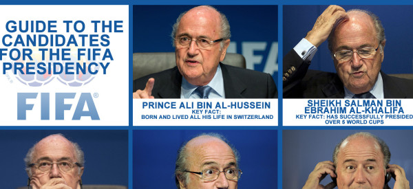 A Guide To The FIFA Presidential Election Candidates