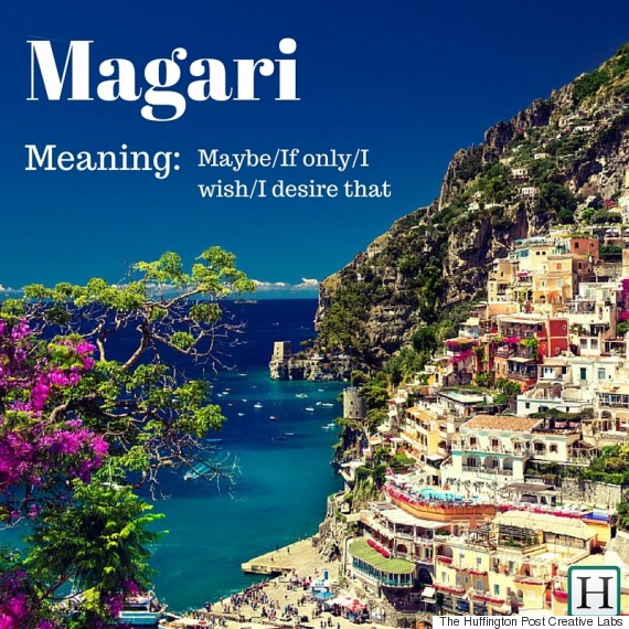 English In Italian: 11 Beautiful Italian Words And Phrases That Just Don't