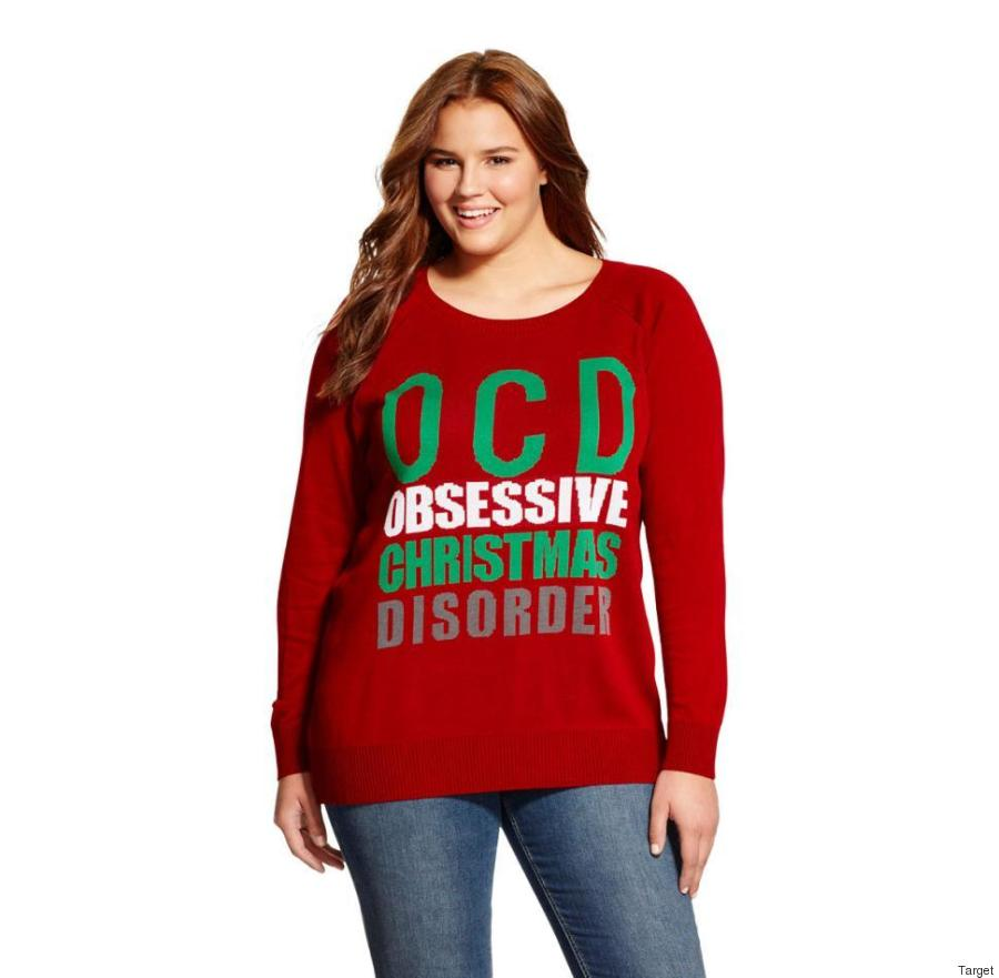 Target Under Fire For Its 'OCD' Christmas Sweater