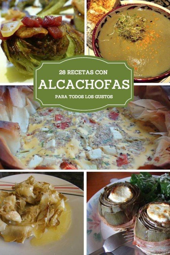 Alcachofas para todos los gustos 28 recetas para cocinar for Cocinar alcachofas