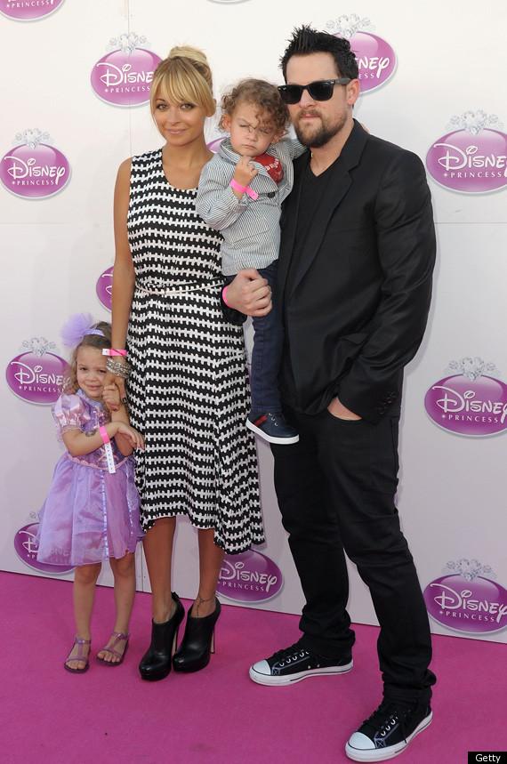 Nicole Richie Joel Madden Bring Kids To Disney Princess