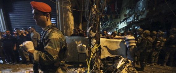 ATTENTATS BEYROUTH