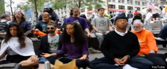 WALL STREET MEDITATION FLASHMOB