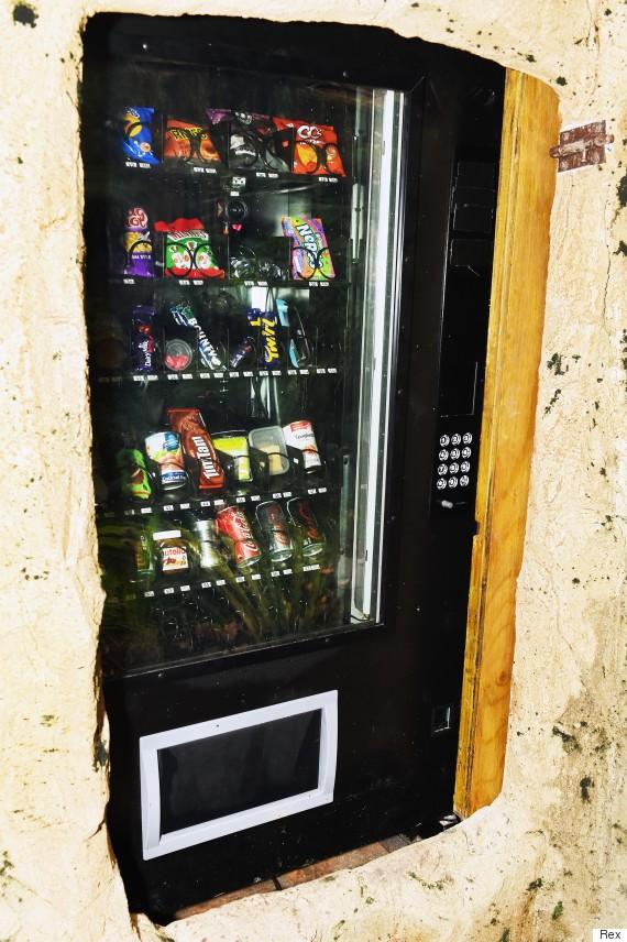 im a celebrity vending machine