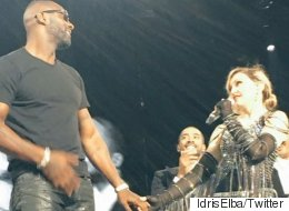 Idris Elba Describes His Special Moment With Madonna