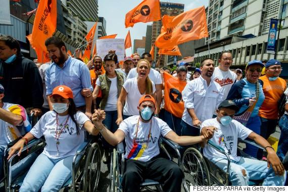 protest venezuela election