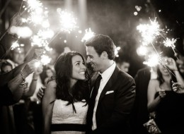 10 Wedding Sparkler Send-Offs That Are Nothing Short Of Magical